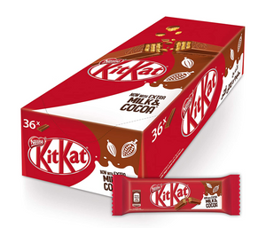 KitKat Chocolate Bar Two Fingers 36 Pieces 20g kuwait