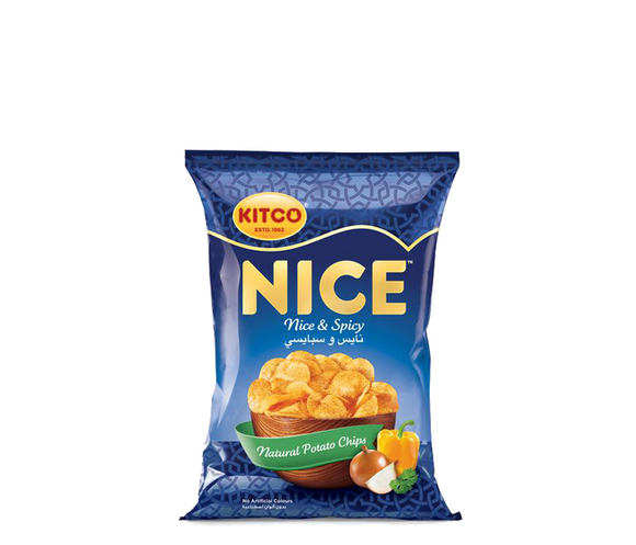 Kitco Nice – Chips Nice & Spicy كتكو نايس – شيبس نايس و سبايسي