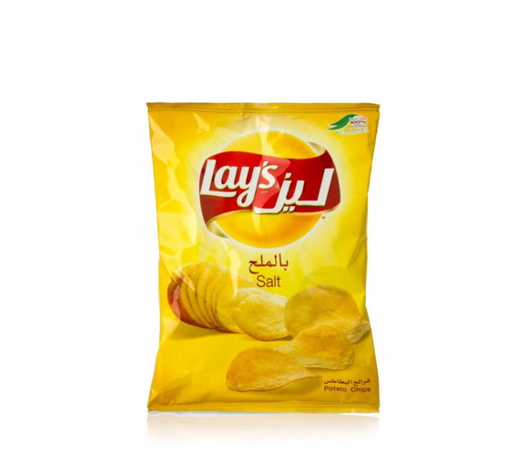 Lays Salted Potato Chips 14g شيبس ليز بالملح