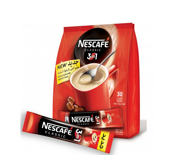 Nescafe My Cup 3 In 1 Sticks 30 x 20 g