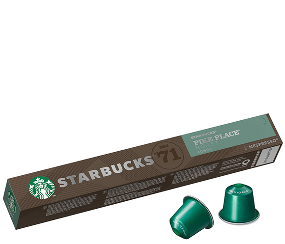 STARBUCKS PIKE PLACE Roast by NESPRESSO – Medium Roast