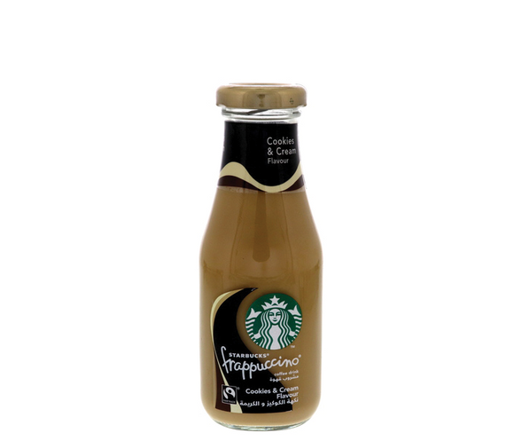 Starbucks Frappuccino Cookies And Cream Coffee Drink 250ml