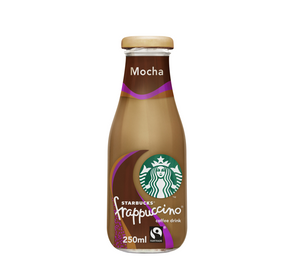 Starbucks Frappuccino Mocha Chocolate Lowfat Coffee 250ml