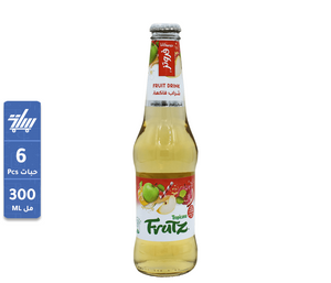 تروبيكانا التفاح  Tropicana Frutz Apple 6 x 300ml