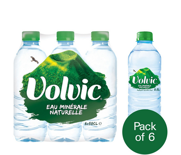 Volvic Mineral Water 500 ml x 6