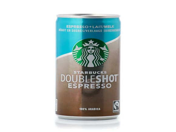 Starbucks Doubleshot Espresso No Added Sugar Coffee 200ml