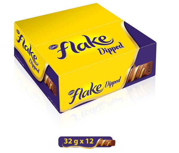 Cadbury Flake Dipped Bar 32g x 12 Pieces