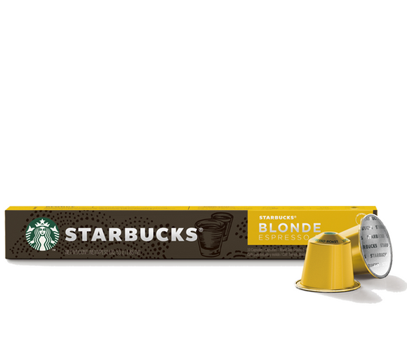 Starbucks by Nespresso Blonde Roast Espresso