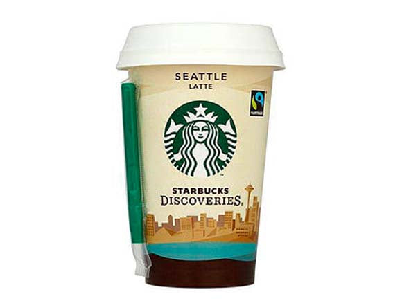 Starbucks Chilled Classics Caffe Latte Coffee 220ml