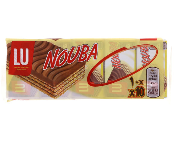 Lu Nouba Wafer Biscuits 10 x 17.5g