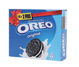 Oreo Biscuit Original 38g x 14pcs + 2