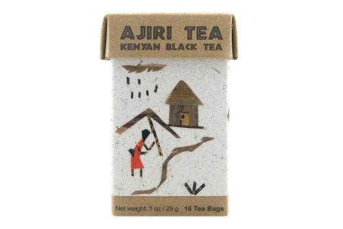 Kenya Ajiri Black Tea - Box of Bagged Tea