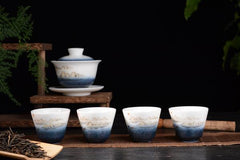 Rising Mountain Gaiwan and Cup Set