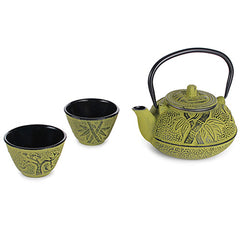 Chaniwa Green Cast Iron Tea Set-22oz