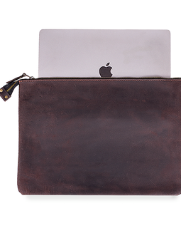 Cover For MacBook With A Zip-Fastener