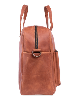 Unisex Leather Big Messenger Bag