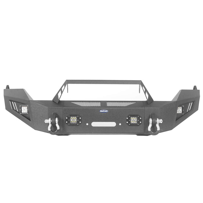 Hooke Road® Dodge Ram Front & Rear Bumper Combo for 2013-2018 Dodge Ram 1500 bxg801802 u-Box 8