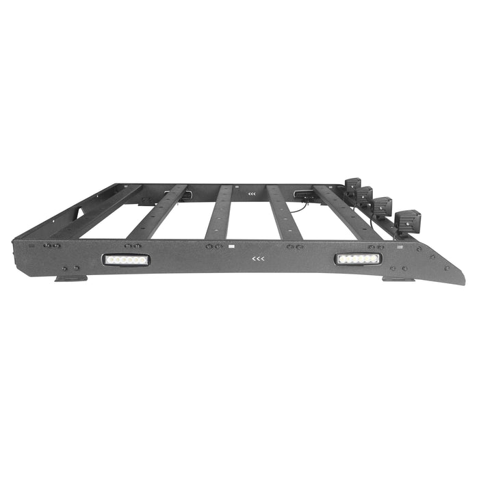 Hooke Road® Dodge Ram Top Roof Rack Cargo Carrier for Dodge Ram Crew Cab bxg804 u-Box BXG804 10