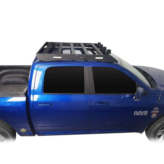 Hooke Road® Dodge Ram Top Roof Rack Cargo Carrier for Dodge Ram Crew Cab bxg804 u-Box BXG804 5