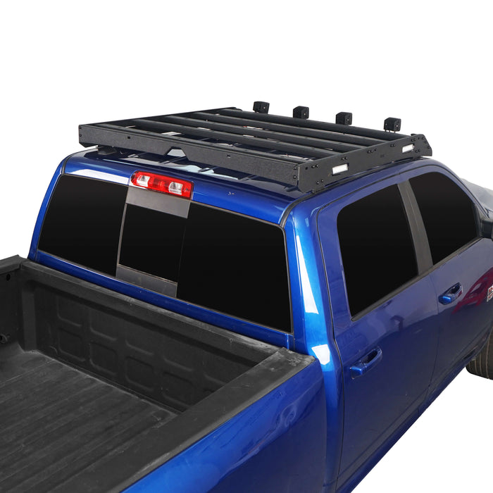 Hooke Road® Dodge Ram Top Roof Rack Cargo Carrier for Dodge Ram Crew Cab bxg804 u-Box BXG804 6