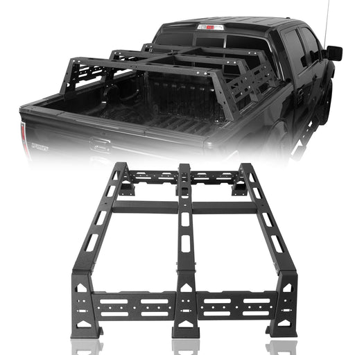 "Hooke Road 12.9"" High Bed Rack(09-14 Ford F-150 & Raptor)"