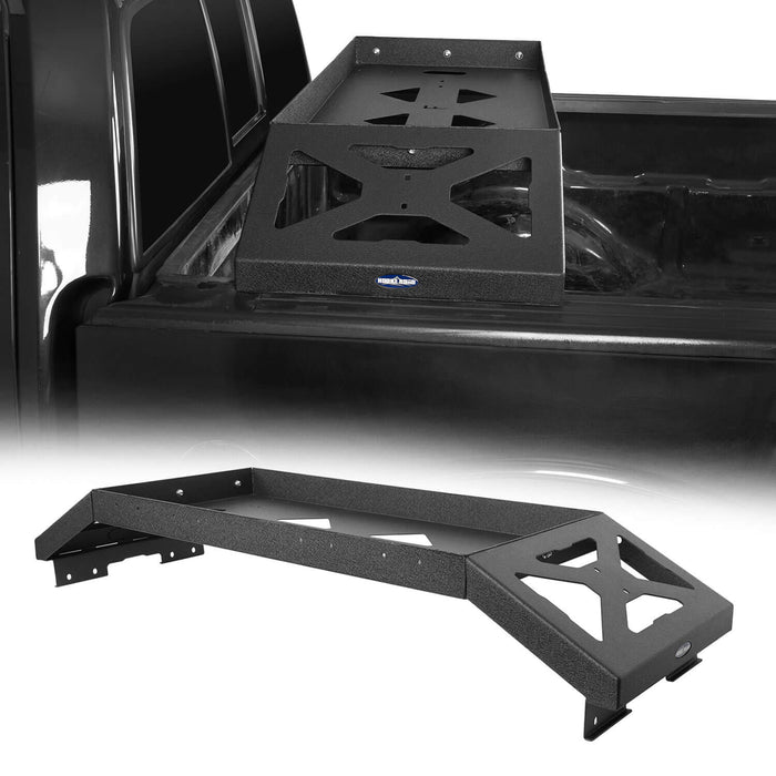 Hooke Road Ford F-150 Bed Rack for 2009-2014 Ford F-150 Cargo Rack Luggage Storage Carrier u-Box Offroad BXG8208 2