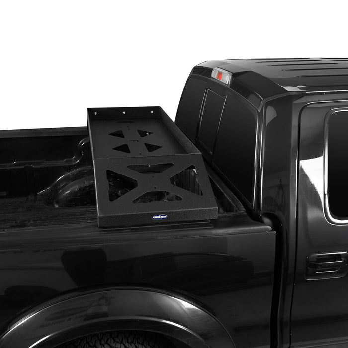 Hooke Road Ford F-150 Bed Rack for 2009-2014 Ford F-150 Cargo Rack Luggage Storage Carrier u-Box Offroad BXG8208 4