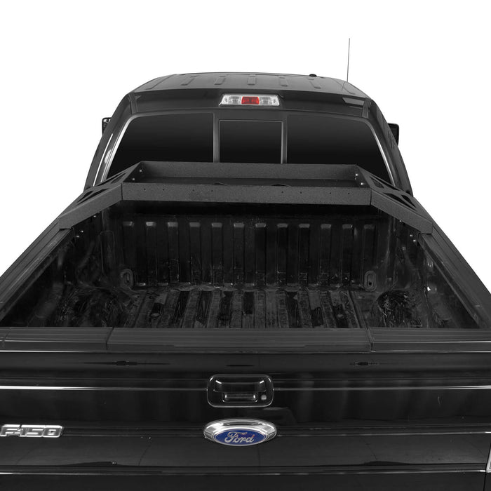 Hooke Road Ford F-150 Bed Rack for 2009-2014 Ford F-150 Cargo Rack Luggage Storage Carrier u-Box Offroad BXG8208 5