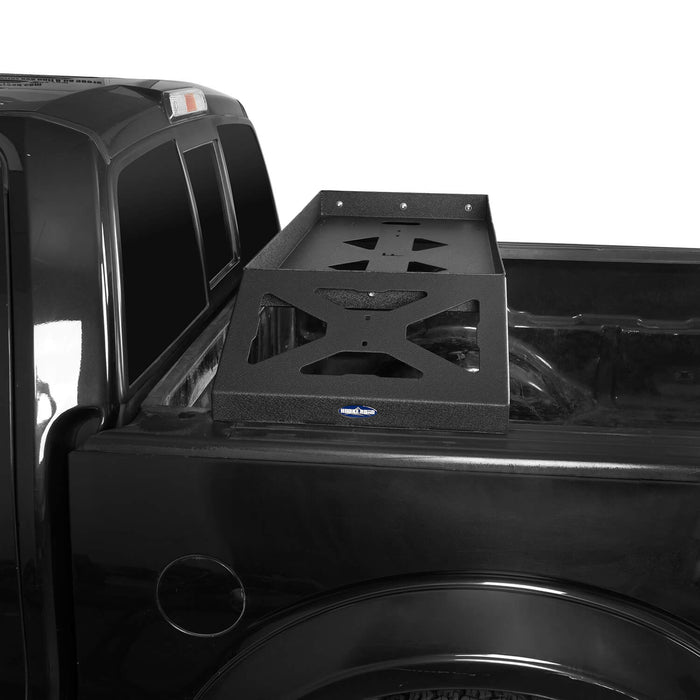 Hooke Road Ford F-150 Bed Rack for 2009-2014 Ford F-150 Cargo Rack Luggage Storage Carrier u-Box Offroad BXG8208 6