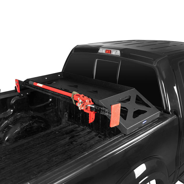 Hooke Road Ford F-150 Bed Rack for 2009-2014 Ford F-150 Cargo Rack Luggage Storage Carrier u-Box Offroad BXG8208 7