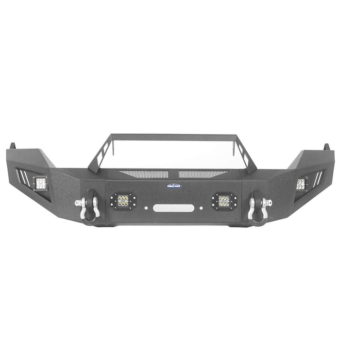 Hooke Road® Discoverer Front Bumper Full Width Bumper for 2013-2018 Dodge Ram 1500 BXG801 u-Box offroad 6