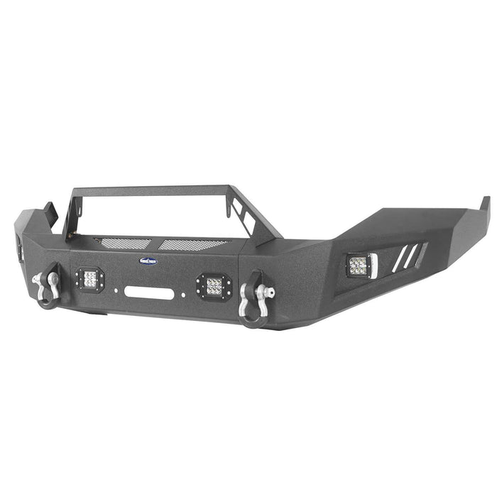 Hooke Road® Discoverer Front Bumper Full Width Bumper for 2013-2018 Dodge Ram 1500 BXG801 u-Box offroad 7