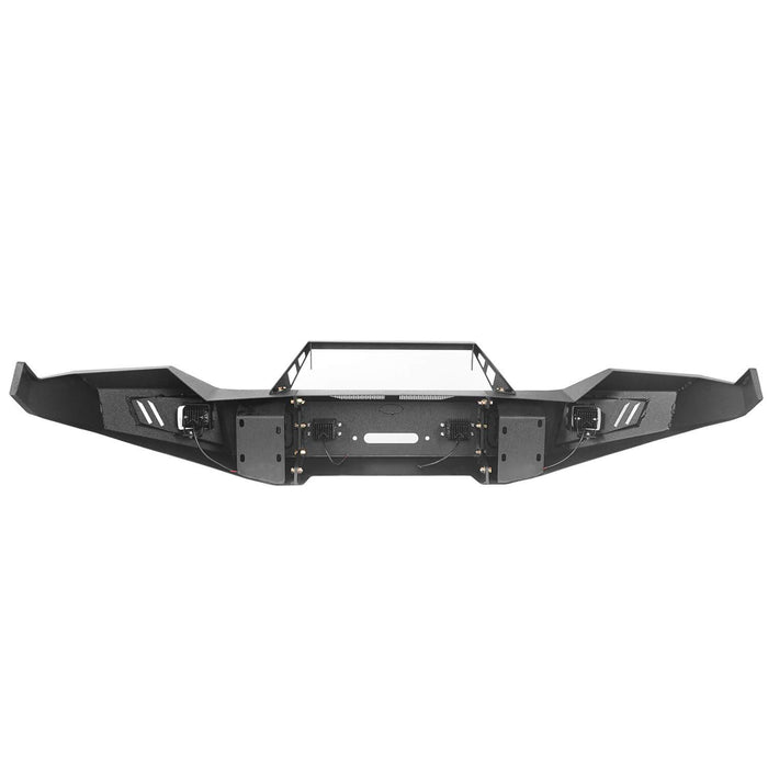 Hooke Road® Discoverer Front Bumper Full Width Bumper for 2013-2018 Dodge Ram 1500 BXG801 u-Box offroad 8