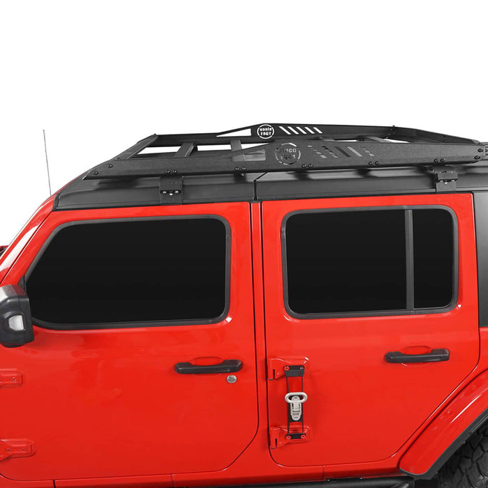 Hooke Road® 4-Door Hard Top Roof Rack & Tubular Half Doors(20-21 Jeep Gladiator)