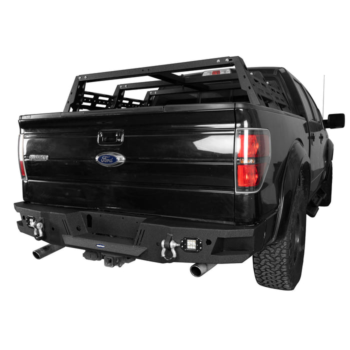 Hooke Road®  F-150 Ford Rear Bumper for 2006-2014 Ford F-150 bxg8204 2