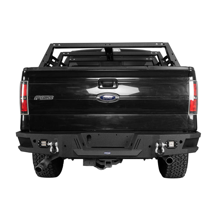 Hooke Road®  F-150 Ford Rear Bumper for 2006-2014 Ford F-150 bxg8204 3
