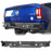 Hooke Road® Dodge Ram Rear Bumper for 2009-2018 Dodge Ram 1500 Dodge Ram Parts BXG802 u-Box offroad 2