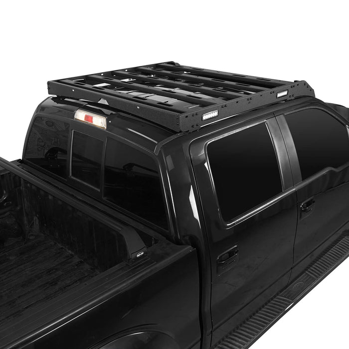 Hooke Road Ford F-150 Roof Rack for 2009-2014 Ford Raptor & F150 SuperCrew u-Box Offroad BXG8205 4