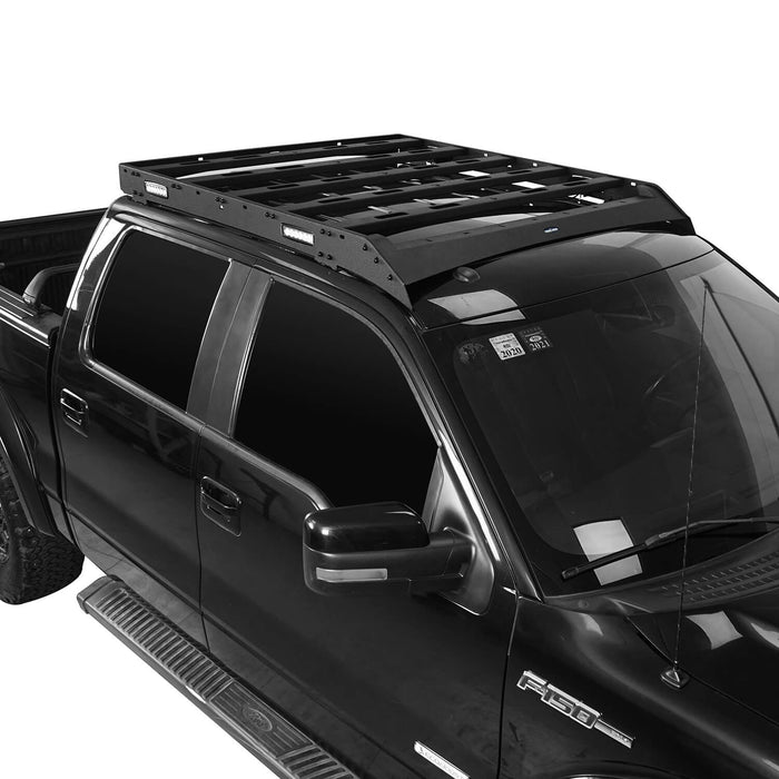 Hooke Road Ford F-150 Roof Rack for 2009-2014 Ford Raptor & F150 SuperCrew u-Box Offroad BXG8205 6