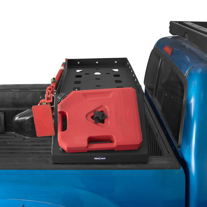 Hooke Road Tacoma Bed Rack Cargo Rack with RotoPax Fuel Packs for 2005-2015 Toyota Tacoma Gen 2nd BXG4018 5