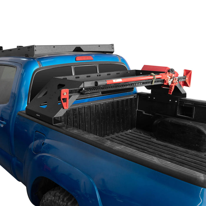 Hooke Road Tacoma Bed Rack Cargo Rack with RotoPax Fuel Packs for 2005-2015 Toyota Tacoma Gen 2nd BXG4018 6