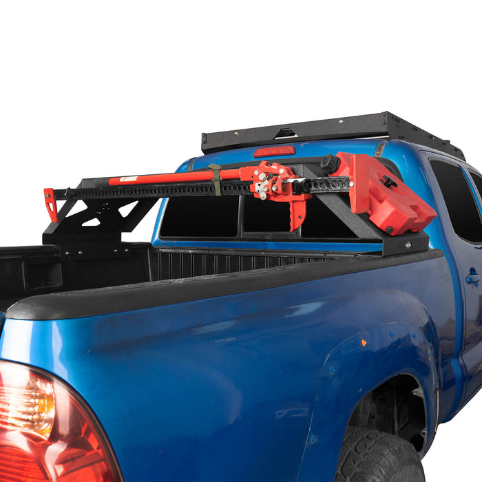 Hooke Road Tacoma Bed Rack Cargo Rack with RotoPax Fuel Packs for 2005-2015 Toyota Tacoma Gen 2nd BXG4018 7
