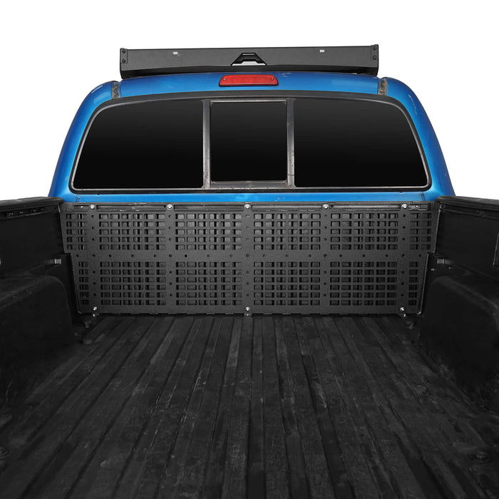 Hooke Road® Tacoma Front Bed Molle System for Toyota Tacoma Gen 2 2005-2015 BXG4016 u-Box Offroad 2