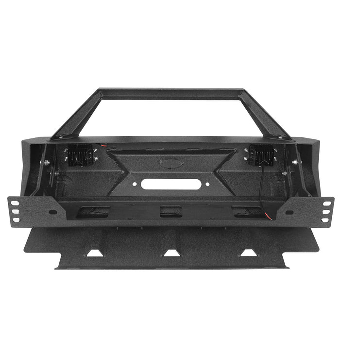 Hooke Road® Toyota Stubby Front Bumper Bar w/Led Lights for 2010-2020 Toyota 4Runner  BXG9014 8
