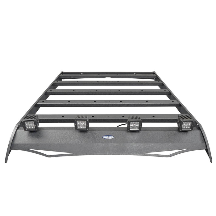 Hooke Road toyota tacoma roof rack with lights 4 doors for toyota tacoma 2005 2015 bxg407 Tacoma Rack Toyota Tacoma Accessories u-Box Offroad 5