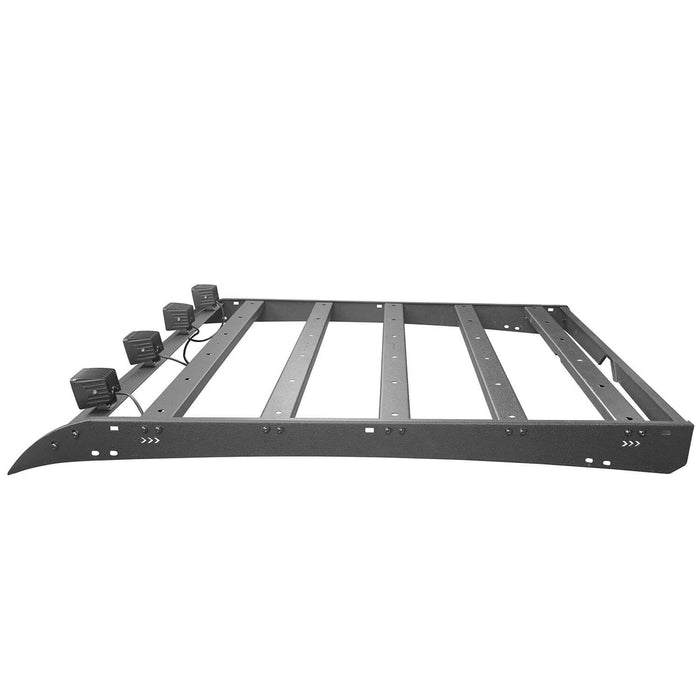 Hooke Road toyota tacoma roof rack with lights 4 doors for toyota tacoma 2005 2015 bxg407 Tacoma Rack Toyota Tacoma Accessories u-Box Offroad 7