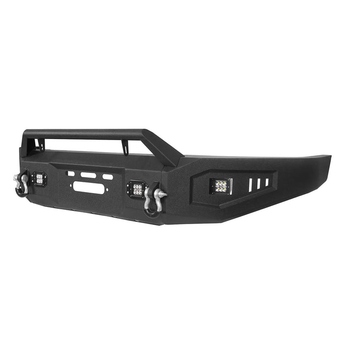 Hooke Road Toyota Tundra Front Bumper with Winch Plate for 2007-2013 Toyota Tundra u-Box Offroad BXG5205 10