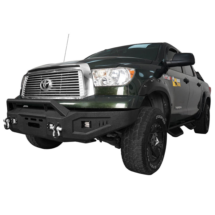 Hooke Road Toyota Tundra Front Bumper with Winch Plate for 2007-2013 Toyota Tundra u-Box Offroad BXG5205 5