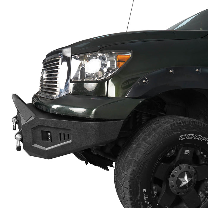 Hooke Road Toyota Tundra Front Bumper with Winch Plate for 2007-2013 Toyota Tundra u-Box Offroad BXG5205 6
