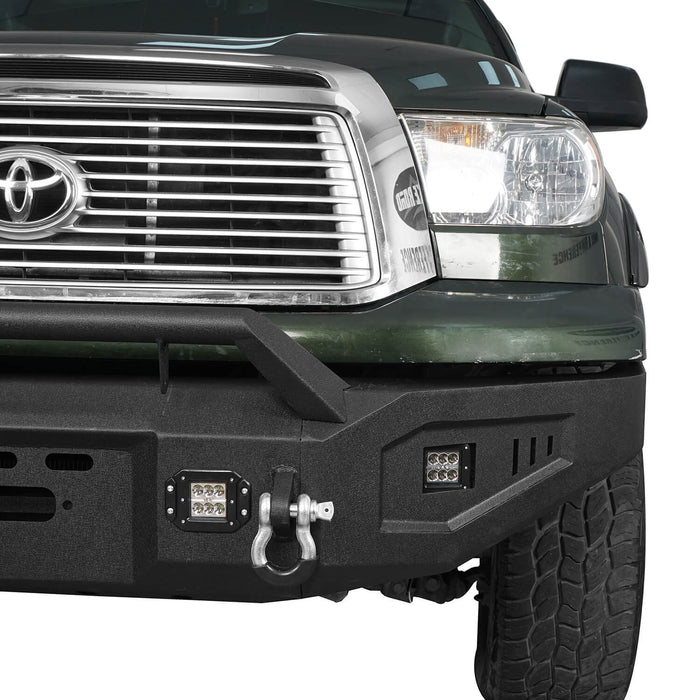 Hooke Road Toyota Tundra Front Bumper with Winch Plate for 2007-2013 Toyota Tundra u-Box Offroad BXG5205 7